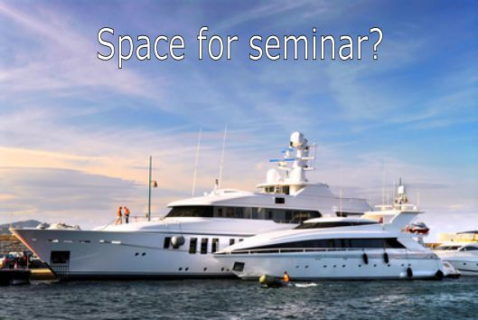 Make your yacht available for professionals!