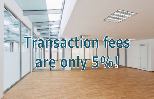 Transaction fees are 0%!